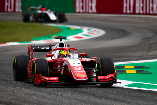 AUTODROMO NAZIONALE MONZA, ITALY - SEPTEMBER 06: Mick Schumacher (DEU, PREMA RACING) during the Monza at Autodromo Nazionale Monza on September 06, 2019 in Autodromo Nazionale Monza, Italy. (Photo by Joe Portlock / LAT Images / FIA F2 Championship)