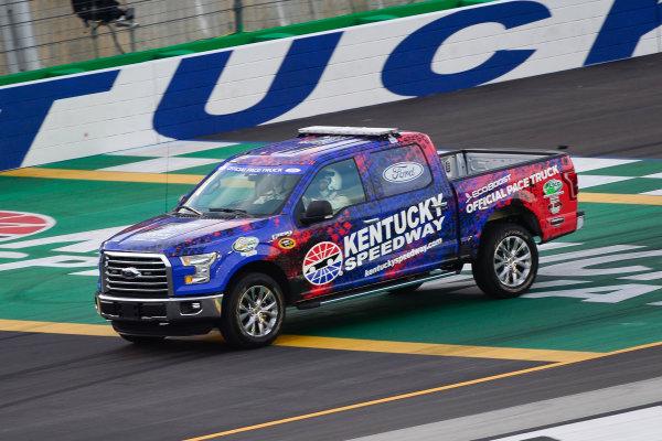 7-9 July, 2016, Sparta, Kentucky USA Ford pace truck ?2016, Logan Whitton  LAT Photo USA