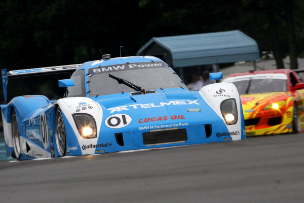 10-11 August, 2012, Watkins Glen, New York USAThe #01 BMW Riley of Scott Pruett and Memo Rojas  is shown in action during practice.(c)2012, R D. EthanLAT Photo USA