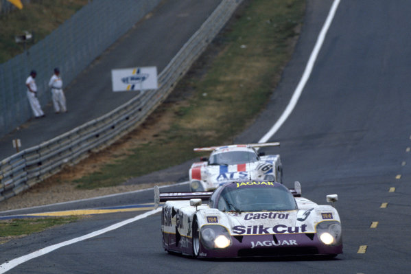 Le Mans, France. 16th - 17th June 1990.