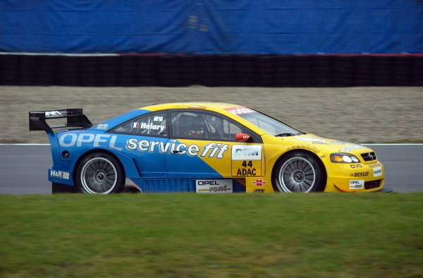 Eric Hellary (FRA) Euroteam Opel Astra Coupe, replaces Yves Olivier for this race.DTM Championship, Rd9, Zandvoort, Holland. 29 September 2002.DIGITAL IMAGE