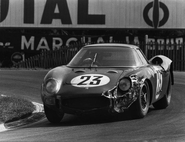 Le Mans, France. 20th - 21st June 1964 Pierre Dumay/Gerard Langlois (Ferrari 250 LM), 16th position, action. World Copyright: LAT Photographic Ref:  Autocar Used Pic 26th June 1964 Pg 1231.