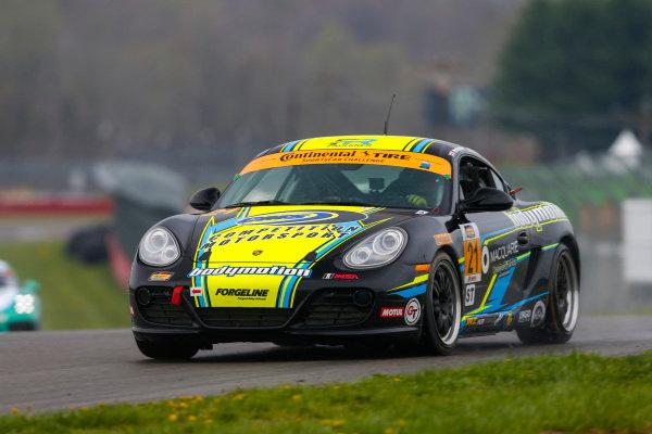 #21 Bodymotion Racing, Porsche Cayman, ST: Max Faulkner, Jason Rabe