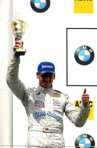 3rd placed Adrian Sutil (GER) HBR Motorsport GmbH.  Formula BMW ADAC Championship, Rd 13&14, Nurburgring, Germany. 17 August 2003.  DIGITAL IMAGE