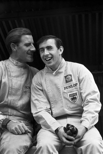 Graham Hill and Jackie Stewart.