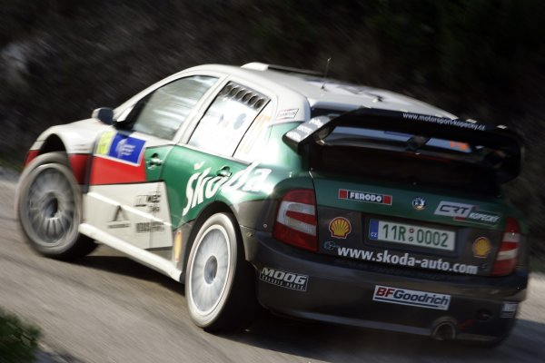 2007 FIA World Rally ChampionshipRound 13Rally of France, Tour de Course 200711-14 October 2007Jan Kopecky, Skoda, Action.Worldwide Copyright: McKlein/LAT