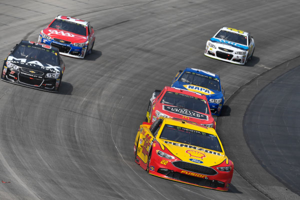 Monster Energy NASCAR Cup Series AAA 400 Drive for Autism Dover International Speedway, Dover, DE USA Sunday 4 June 2017 Joey Logano, Team Penske, Shell Pennzoil Ford Fusion, Jamie McMurray, Chip Ganassi Racing, McDonald's Chevrolet SS, Chris Buescher, JTG Daugherty Racing, Maxwell House Max Chevrolet SS World Copyright: Logan Whitton LAT Images ref: Digital Image 17DOV1LW3747
