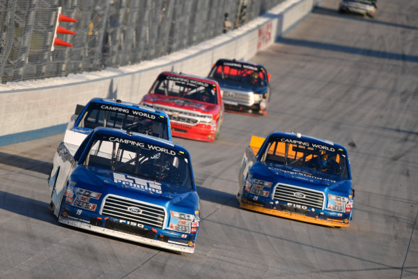 NASCAR Camping World Truck Series Bar Harbor 200 Dover International Speedway, Dover, DE USA Friday 2 June 2017 Austin Cindric, LTi Printing Ford F150, Chase Briscoe, Cooper Standard Ford F150 World Copyright: Logan Whitton LAT Images ref: Digital Image 17DOV1LW2414