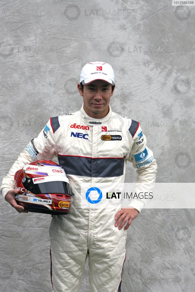 Albert Park, Melbourne, Australia24th March 2011.Kamui Kobayashi, Sauber C31 Ferrari. Portrait. World Copyright: LAT Photographicref: Digital Image1_LC2415