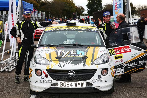 2017 Prestone MSA British Rally Championship, Rally Isle of Man. 14th - 16th September 2017. Callum Devine / Keith Moriarty Opel Adam. World Copyright: JEP/LAT Images