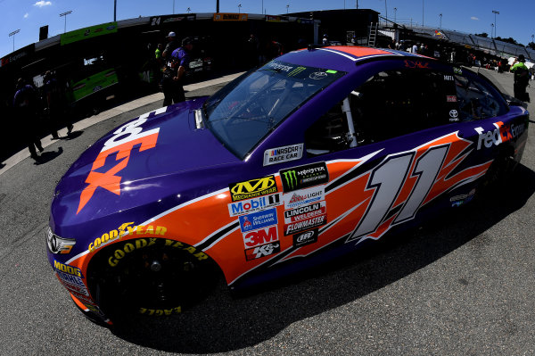 Monster Energy NASCAR Cup Series Federated Auto Parts 400 Richmond Raceway, Richmond, VA USA Friday 8 September 2017 Denny Hamlin, Joe Gibbs Racing, FedEx Express Toyota Camry World Copyright: Rusty Jarrett LAT Images