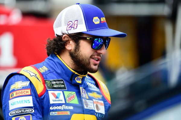 Monster Energy NASCAR Cup Series Bass Pro Shops NRA Night Race Bristol Motor Speedway, Bristol, TN USA Friday 18 August 2017 Chase Elliott, Hendrick Motorsports, NAPA Chevrolet SS World Copyright: John K Harrelson LAT Images