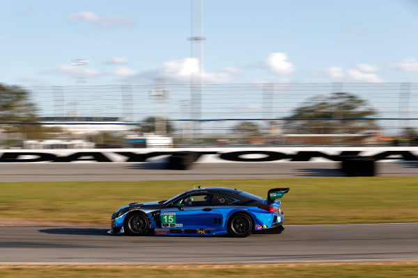 2017 WeatherTech Sportscar Championship December Daytona Testing Wednesday 6 December 2017 #15 3GT Racing Lexus RCF GT3: Jack Hawksworth  World Copyright: Alexander Trienitz/LAT Images  ref: Digital Image 2017-IMSA-Test-Dayt-AT2-1037
