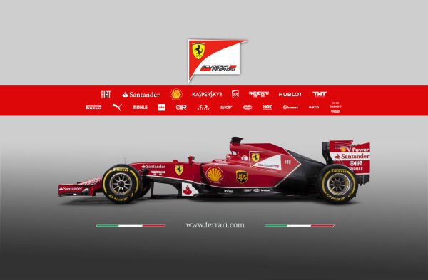 Ferrari F14 T Online Launch Images 25 January 2014 Photo: Ferrari (Copyright Free FOR EDITORIAL USE ONLY) ref: Digital Image 140004eve