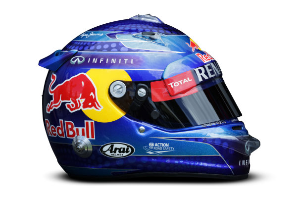 Albert Park, Melboune 14th March 2013 The helmet of Sebastian Vettel, Red Bull Racing. World Copyright: LAT Photographic ref: Digital Image DKAL8678