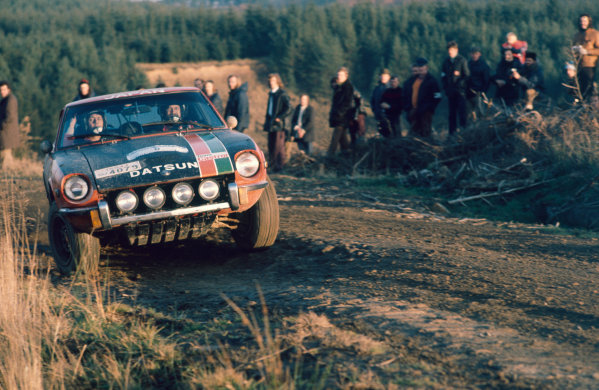 RAC Rally, Great Britain. 17th - 21st November 1973.