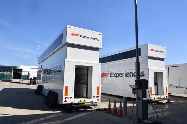 F1 Experiences trucks