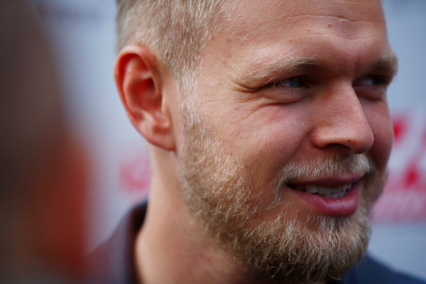 Spa Francorchamps, Belgium.  Thursday 24 August 2017. Kevin Magnussen, Haas F1.  World Copyright: Andy Hone/LAT Images  ref: Digital Image _ONY3144