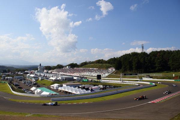 2017 Japanese Super Formula. Sugo, Japan. 23rd - 24th September 2017. Rd 6. Winner Yuhi Sekiguchi ( #19 ITOCHU ENEX TEAM IMPUL SF14 ) action World Copyright: Yasushi Ishihara / LAT Images. Ref: 2017_SF_Rd6_003