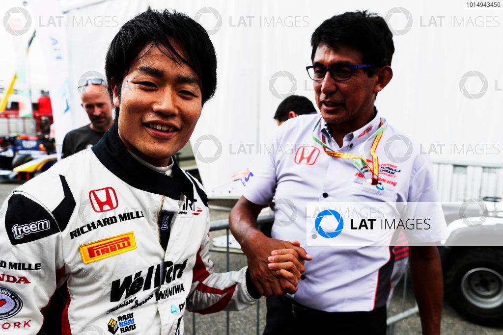Autodromo Nazionale di Monza, Italy. Friday 1 September 2017 Nobuharu Matsushita (JPN, ART Grand Prix).  Photo: Mauger/FIA Formula 2 ref: Digital Image _56I6590