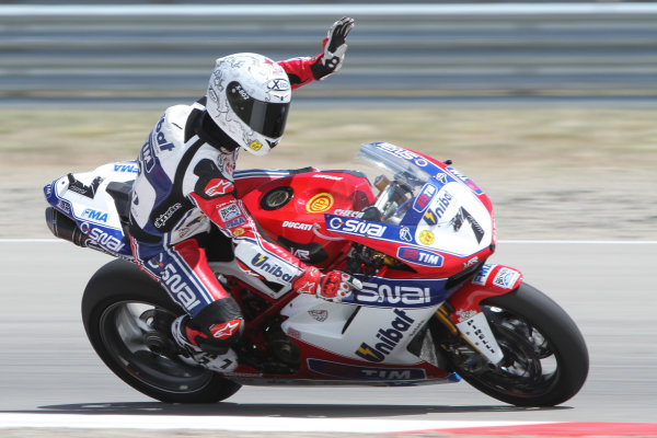 28 May 2012, Miller Motorsports Park, Tooele, Utah USACarlos Checa, Althea Racing World Copyright: Covy Moore/LAT Photographic