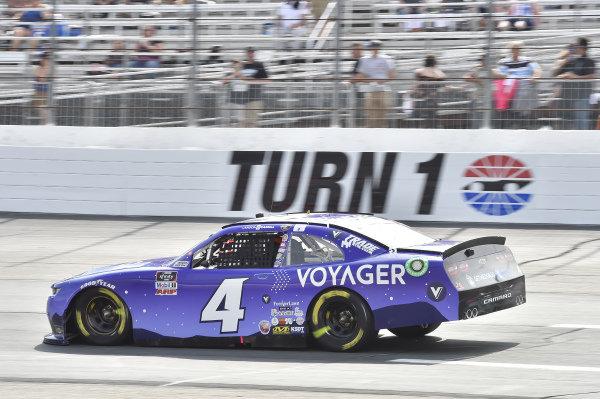 #4: Landon Cassill, JD Motorsports, Chevrolet Camaro Voyager