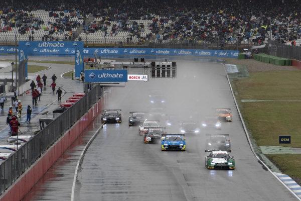 Start, Marco Wittmann, BMW Team RMG, BMW M4 DTM