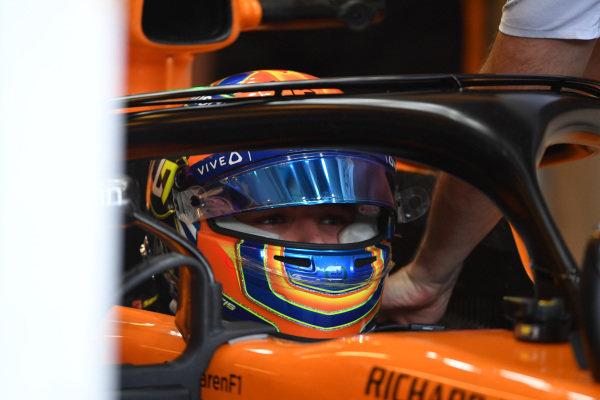 Lando Norris (GBR) McLaren MCL33