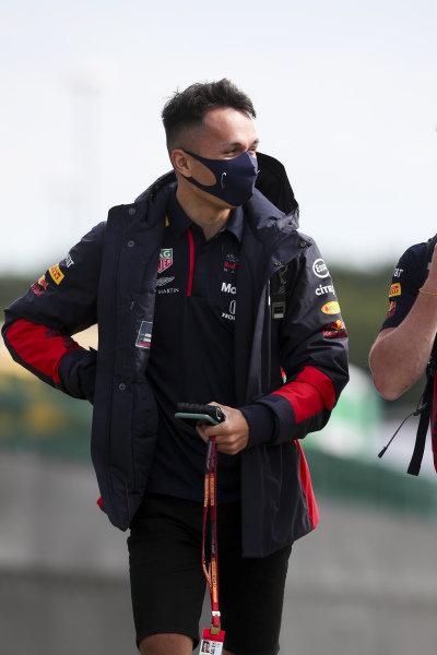 Alexander Albon, Red Bull Racing arrives
