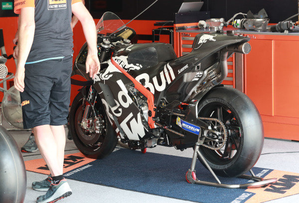 Bike of Brad Binder, Red Bull KTM Factory Racing.