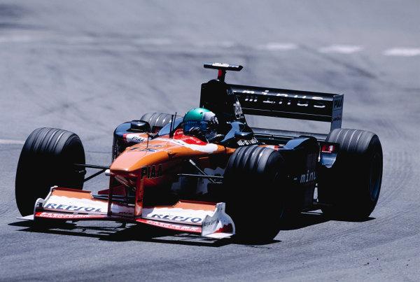 1999 Monaco Grand Prix.Monte Carlo, Monaco. 13-16 April 1999.Toranosuke Takagi (Arrows A20).Ref-99 MON 100.World Copyright - Gavin Lawrence/LAT Photographic