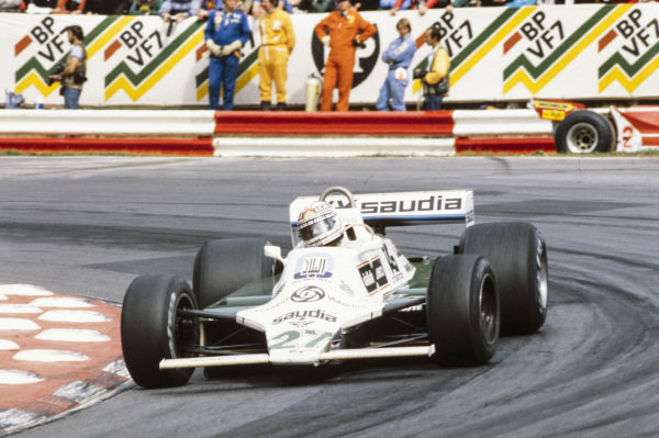 Alan Jones, Williams FW07B Ford.
