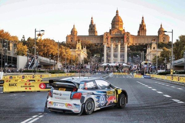 Jari-Matti Latvala (FIN) / Miikka Anttila (FIN), Volkswagen Polo R WRC at FIA World Rally Championship, Rd12, RAAC Rally de Espana, Preparations and Shakedown, Costa Daurada, Catalunya, Spain, 22 October 2015.