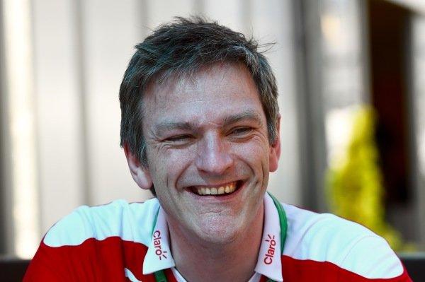 James Allison (GBR) Ferrari Chassis Technical Director at Formula One World Championship, Rd1, Australian Grand Prix, Preparations, Albert Park, Melbourne, Australia, Wednesday 16 March 2016.