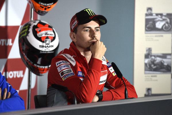 Jorge Lorenzo, Ducati Team.