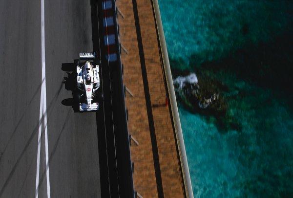 2002 Monaco Grand Prix.Monte Carlo, Monaco. 23-26 May 2002.Olivier Panis (B.A R. 004 Honda).Ref-02 MON 36.World Copyright - LAT Photographic