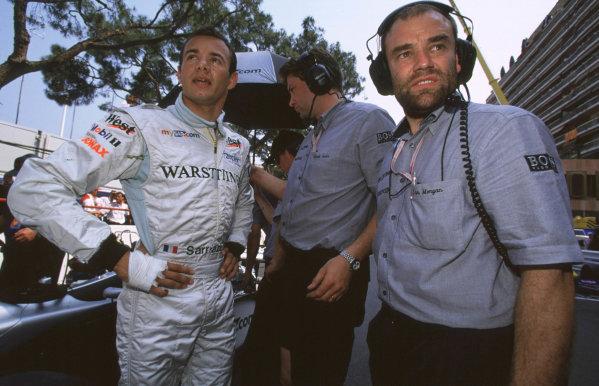 International F3000 MonacoMonte Carlo, Rd 5, 2nd - 3rd june 2000.Stephan Sarrazin - portrait.World - Bellanca/ LAT Photographic