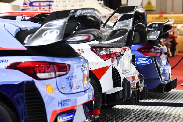 WRC rear wing detail