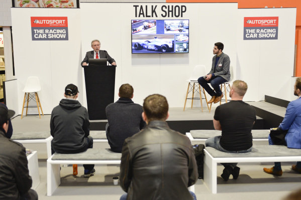 Nick Whale of Silverstone Auctions at the Talk Shop stage