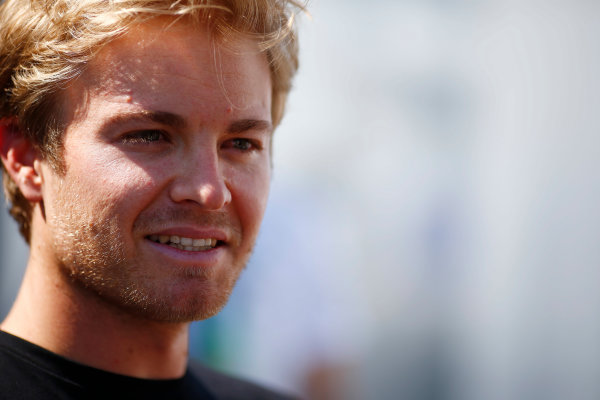 Circuit Gilles Villeneuve, Montreal, Canada. Thursday 4 June 2015. Nico Rosberg, Mercedes AMG. World Copyright: Andy Hone/LAT Photographic. ref: Digital Image _ONZ1390
