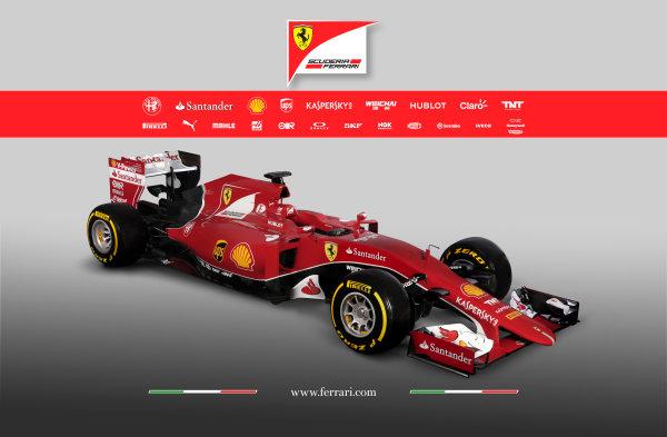Ferrari SF-15T Reveal 30 January 2015 The new Ferrari SF-15T. Photo: Ferrari (Copyright Free FOR EDITORIAL USE ONLY) ref: Digital Image 150013eve