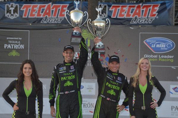19-20 April, 2013, Long Beach, California.#01 Extreme Speed Motorsports P2 class winners ©2013 Dan R. Boyd LAT Photo USA