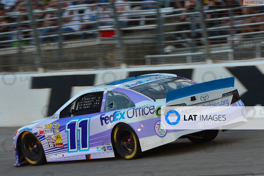 April 11-13, 2013 Fort Worth, Texas USA Brian Vickers, FedEx Office/March of Dimes Toyota Camry car © 2013, Brian Czobat LAT Photo USA .