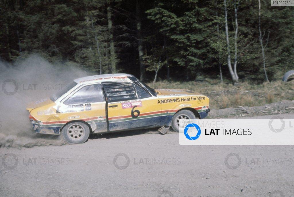 1976 Castrol/Autosport British Rally Championship.