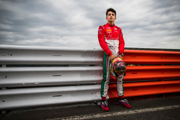 2017 FIA Formula 2 Round 6. Silverstone, Northamptonshire, UK. Thursday 13 July 2017. Charles Leclerc (MCO, PREMA Racing).  Photo: Zak Mauger/FIA Formula 2. ref: Digital Image _56I6324