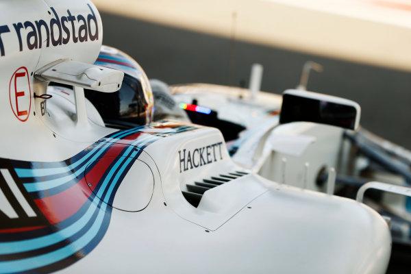 Baku City Circuit, Baku, Azerbaijan. Friday 23 June 2017. Lance Stroll, Williams Martini Racing, in cockpit. World Copyright: Glenn Dunbar/LAT Images ref: Digital Image _31I0453