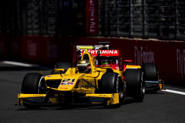 2017 FIA Formula 2 Round 4. Baku City Circuit, Baku, Azerbaijan. Friday 23 June 2017. Sean Gelael (INA, Pertamina Arden)  Photo: Zak Mauger/FIA Formula 2. ref: Digital Image _54I9803
