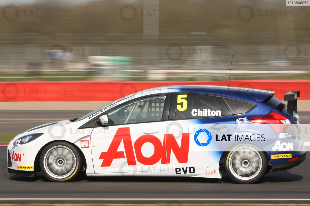 Silverstone, 24th March 2011Tom Chilton (GBR) Team Aon Ford FocusWorld Copyright: Ebrey/LAT Photographic