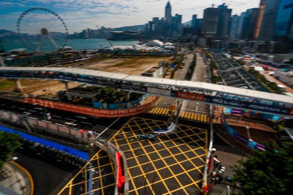 2017/2018 FIA Formula E Championship. Round 1 - Hong Kong, China. Saturday 02 December 2017. Mitch Evans (NZL), Panasonic Jaguar Racing, Jaguar I-Type II. Photo: Alastair Staley/LAT/Formula E ref: Digital Image _ALS5743