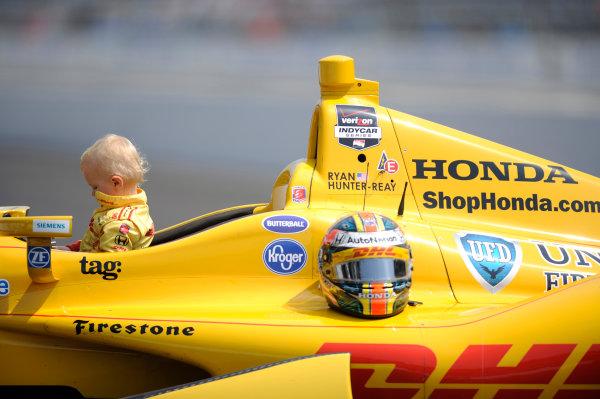 26 May, 2014, Indianapolis, Indiana, USA Winner Ryan Hunter-Reay  ©2014, F. Peirce Williams LAT Photo USA